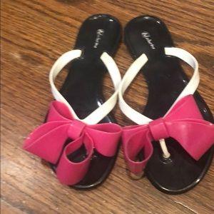 Adorable girls flip flops